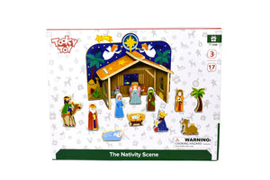 Nativity Christmas Scene - Wooden