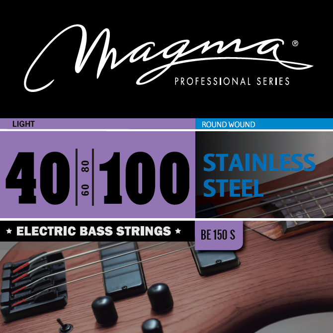 Magma Electric Bass Strings Light - Stainless Steel Round Wound - Long Scale 34