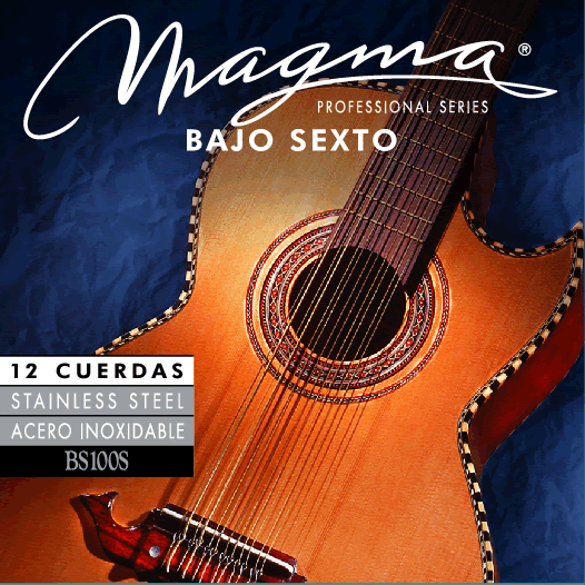 Magma BAJO SEXTO  Staineless Steel Wound Set (BS100S)