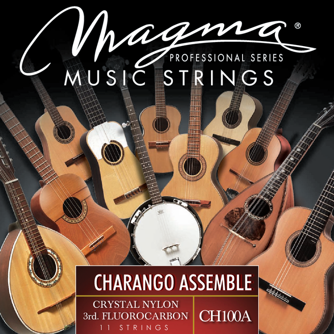 Magma CHARANGO ASSEMBLE Strings Special Nylon and Fluorocarbon Set (CH100A)