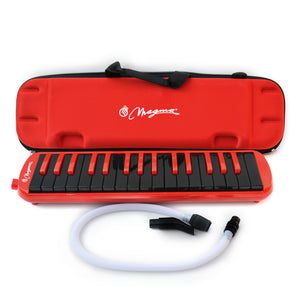 Magma 32 Key Professional Melodica Red and Black  (M3207)