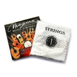 Magma TRES CUBANO Strings Silver Plated Wound Set (TC100)
