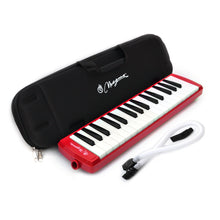 Load image into Gallery viewer, Magma 32 Key Professional Melodica Red with Eva rubber case (M3202PRO)