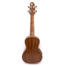 Load image into Gallery viewer, Magma Soprano Ukulele 21 inch Professional SAPELI WOOD LINE with filete, strap pins installed, bag and Preamp EQ (MKS30EQ).