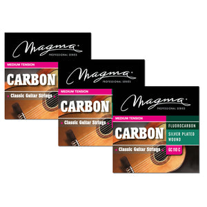 Magma Classical Guitar Strings Normal Tension Carbon - Silver Plated Copper (GC110C)