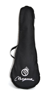 Magma Soprano Ukulele 21 inch Satin White Color with Bag (MK20B)
