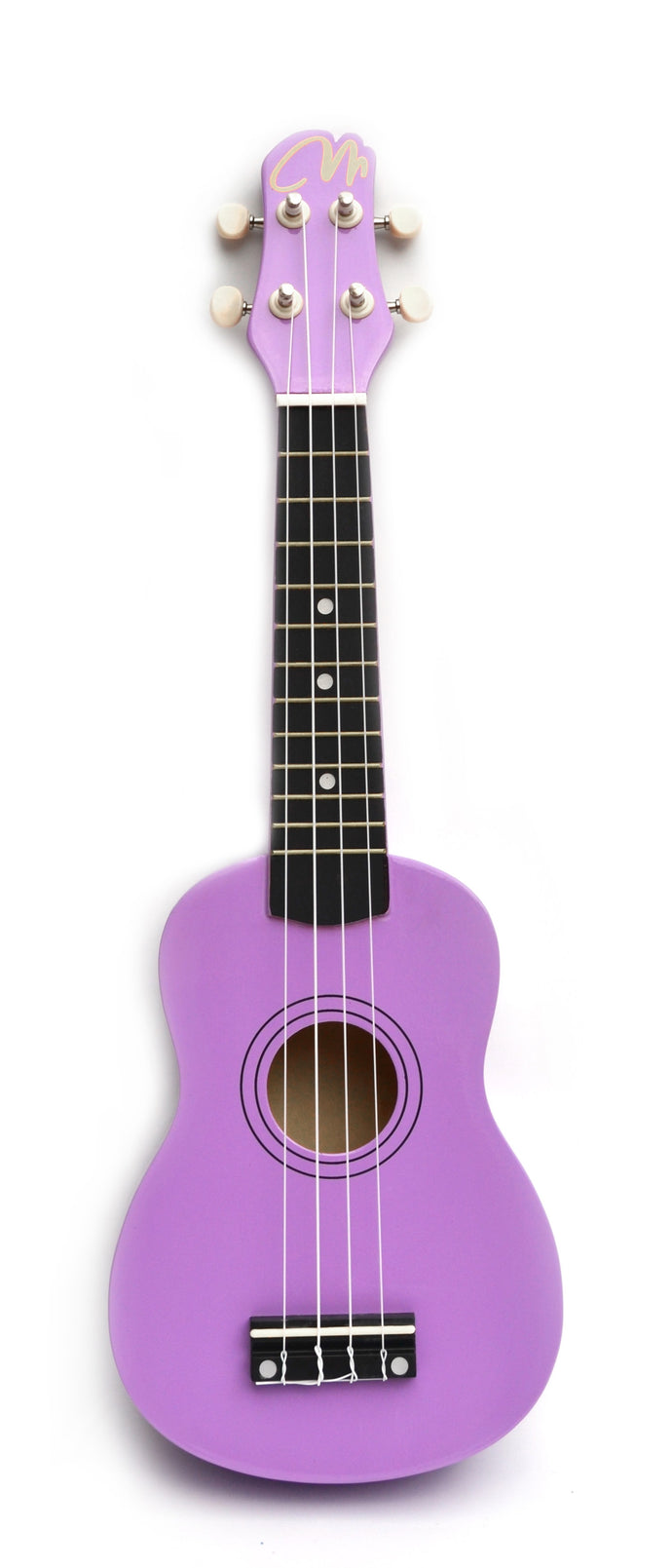 Magma Soprano Ukulele 21 inch Glossy Purple Color with Bag (MK20VB)