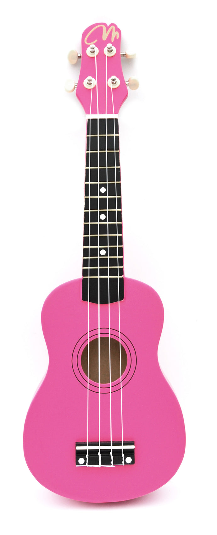 Magma Soprano Ukulele 21 inch Satin Pink Color with Bag (MK20RS)