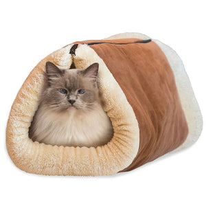 TubeBed - 2 in1 Cat Winter Bed