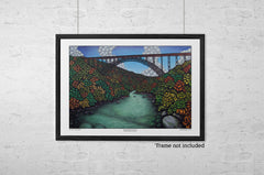 Ancient River in Autumn: New River Gorge, WV - Limited Edition Prints