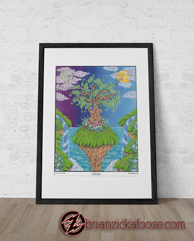 The Tree of Music in a Land of Enchantment - Limited Edition Prints