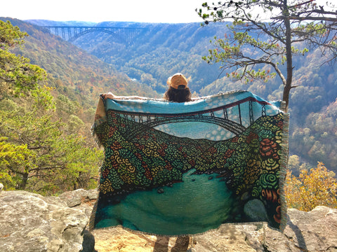 Ancient River New River Gorge - Blankets