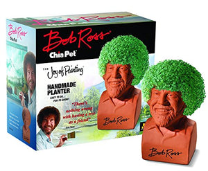 Chia Pet Bob Ross with Seed Pack