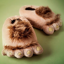 Load image into Gallery viewer, Womens Furry Monster Slippers