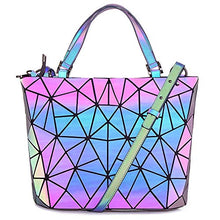Load image into Gallery viewer, Geometric Holographic Purse