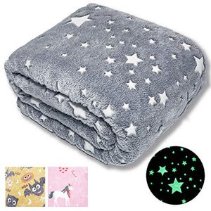 Glow in The Dark Throw Blanket