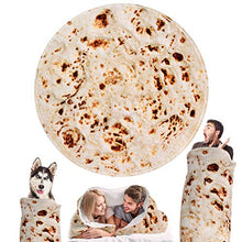 Load image into Gallery viewer, Tortillas Blanket Giant Human Burritos