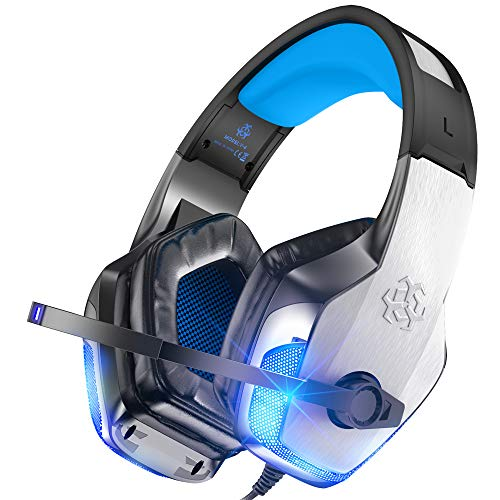 Gaming Headset for Xbox One, PS4, PC, Controller, Noise Cancelling...
