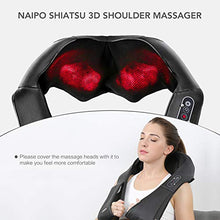 Load image into Gallery viewer, Shiatsu Back and Neck Massager