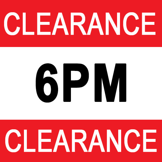 6PM Clearance Sale