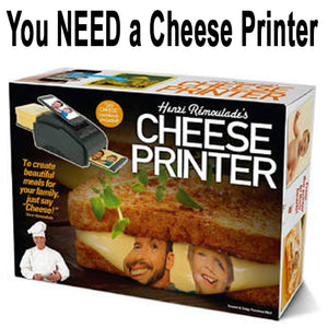 Because cheese printers would be really cool...