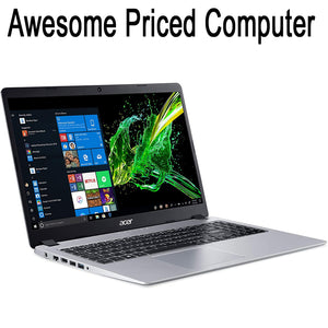 For less than $350 dollars this laptop has lots of great features...
