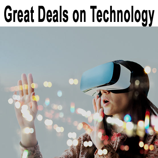 Find some mind blowing deals on technology...