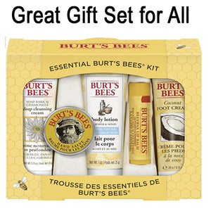 This Burts Bees gift set is less than $10 and has lots you'll love...