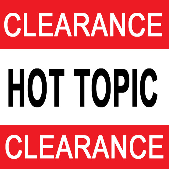Hot Topic Clearance