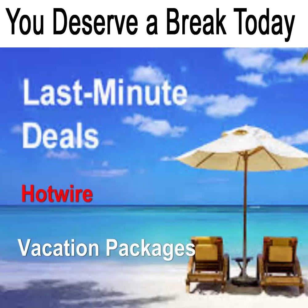 Take a last minute vacation and relax for a while...