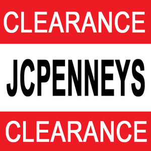 JC Penney Clearance Sale