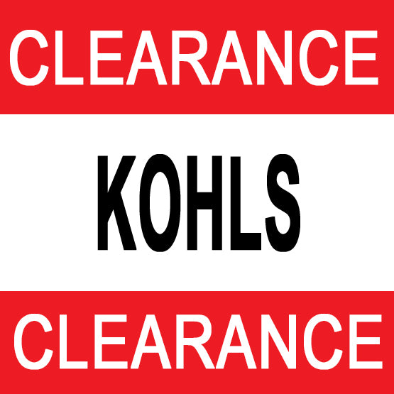 Kohls Clearance Sale