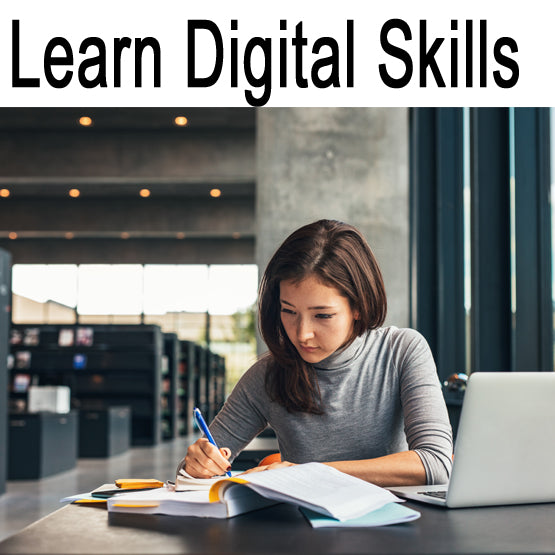 Learn digital skills from one of the best providers online...