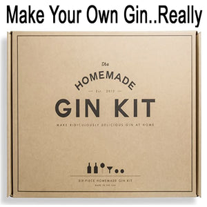 Wow, you can make your own gin with this kit...hiccup...