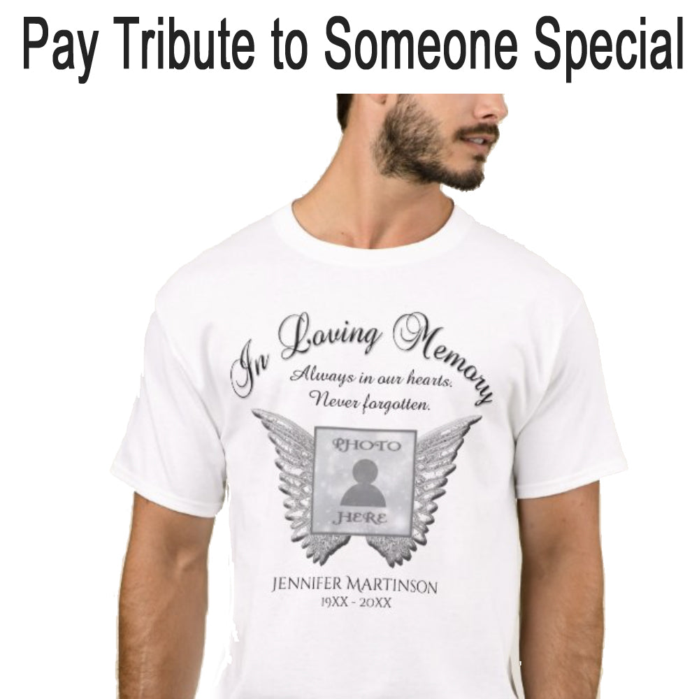 Pay tribute by memorializing someone you cared about...