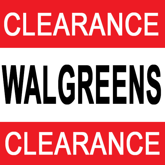 Walgreens Clearance Sale