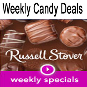 Russell Stover weekly specials are a great deal...
