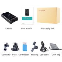 4K Mini Camera WiFi  Smart Wireless Camcorder IP Hotspot HD Night Vision Video Micro Small Cam Motion Detection Vlog Espia