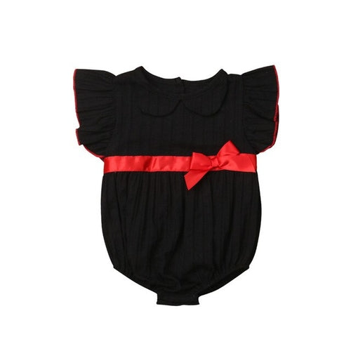 Cute Christmas Newborn Clothes Baby Girls Cotton