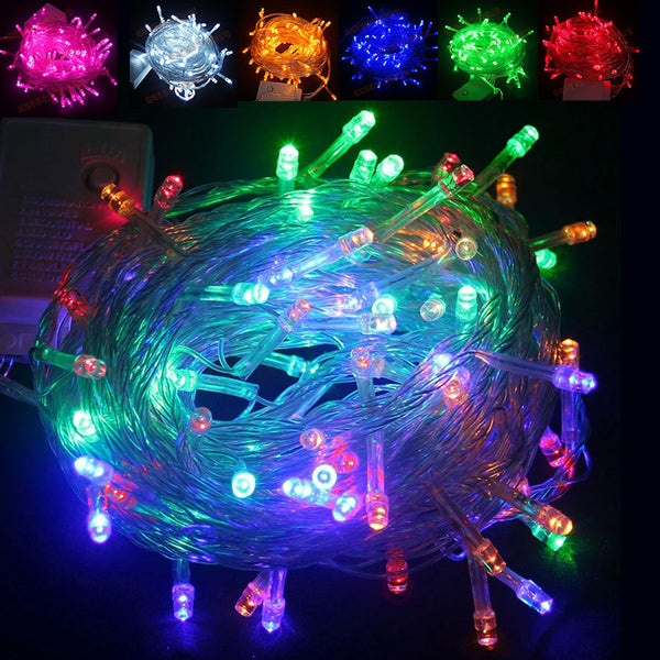 Factory direct LED light string holiday lights string wedding decoration lights outdoor waterproof star lights Christmas lights