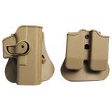 IMI Glock Holster Hunting Tactical Combat Gun Holster for Glock 17 19 22 26 31 Pistol Holsters Airsoft Case with Clip Pouch