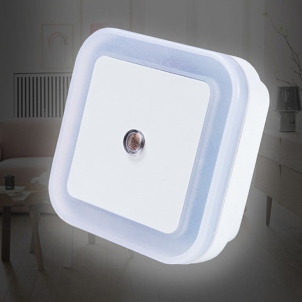 Intelligent LED sensor light new strange hot sale creative gift plug-in energy-saving light control night light
