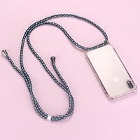 Luxury Lanyard Silicone Phone Case For iPhone 11 Pro Max SE XSmax XR XS X 8 7 6s 6 Plus Ultra-thin Necklace Rope Cover Coque 1