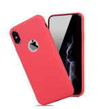 Luxury Soft Silicone Candy Pudding Cover For iPhone X Xr Xs 11 Pro Max 6 7 8 Plus SE 2020 Case Flexible Gel Phone Protector case
