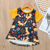 Girls Dress Toddler Kids Baby Girl