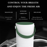 Onever Smart Air Purifier Car Fresh Air Cleaner USB Air Purifier Low Noise Portable For Car Home Office Travel New