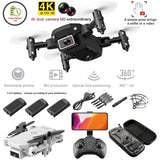 S66 FPV Mini Drone With Camera HD RC Foldable Drone 4K Profesional Selfie Wifi Double Camera Drones Quadcopter RC Dron Mini Toys