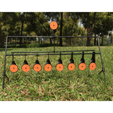 Shooting at the top target to reset/Target for Airgun Lead Pellet Gun Air Rifle Airsoft Paintball