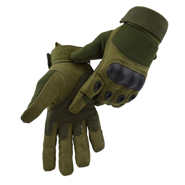 Tactical Gloves Military Army Paintball Airsoft Outdoor Sports Shooting Carbon Hard Knuckle Half / Full Finger Gloves