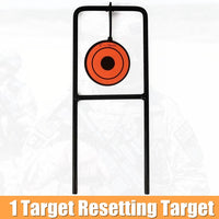 Target for Airgun Lead Pellet Gun Air Rifle Airsoft Paintball 5 Targets Automatic Reset Rotating Shooting Target